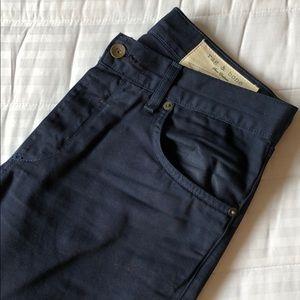 Rag & Bone RB Jay23x navy blue pants